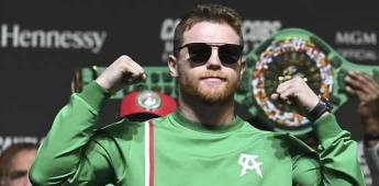 Canelo en el Top 5 de los deportistas mejor pagados, según Forbes