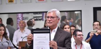 Recibe Jaime Bonilla constancia de mayoría