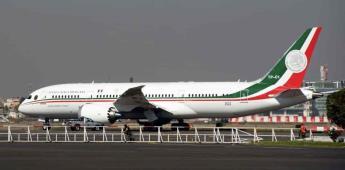 AMLO financiará plan migratorio con venta de avión presidencial