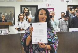 Primera alcaldesa electa en Mexicali