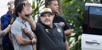 La carta con la que Maradona se despide de Dorados