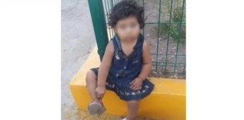 Abandonan a niña de un año afuera de Oxxo en Sonora