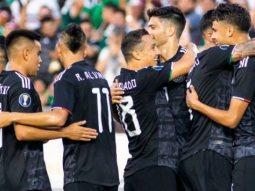México golea a Cuba en su debut en la Copa Oro