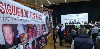 Se atenderá sin demagogia búsqueda de desaparecidos: Alejandro Encinas
