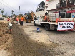 Rehabilita CESPE calles dañadas por su sistema hídrico