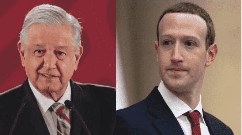 AMLO asegura que Zuckerberg está dispuesto a ayudar a su gobierno