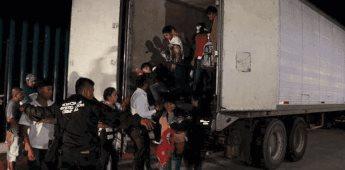 Rescatan a 47 migrantes secuestrados en Sonora