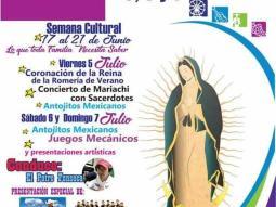 Invitan a Romería Guadalupana los días 5, 6 y 7 de Julio