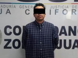 Captura la PME en Tijuana a sujeto que era buscado en el Estado de México
