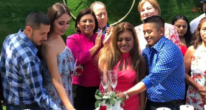 Se casan 23 parejas en Matrimonios Colectivos en Tecate