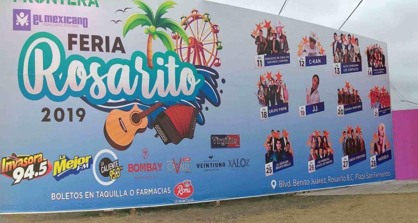 Empiezan los preparativos de la Feria Rosarito 2019
