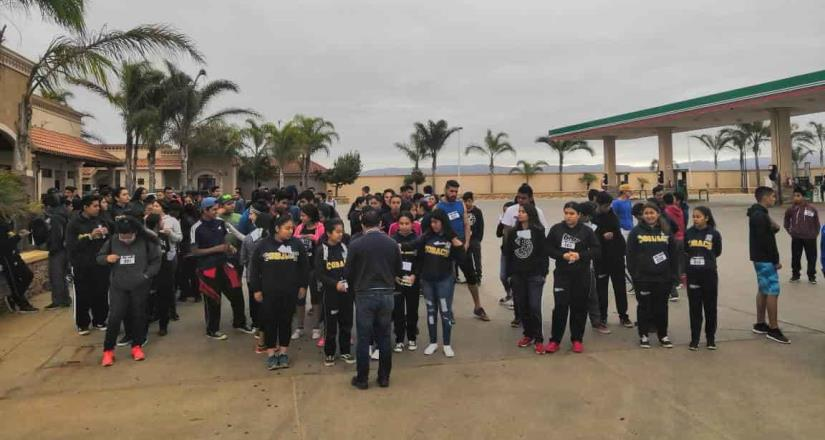 Celebraron una jornada deportiva en el COBACH de Camalú