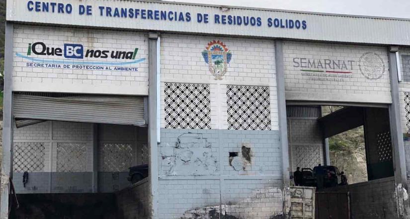 Concluye limpieza del Centro de Transferencia de Tecate