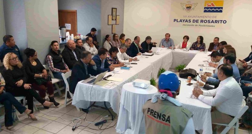 Playas de Rosarito, primer municipio en iniciar trabajos de transición
