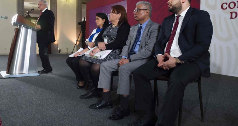 Conferencia de prensa matutina