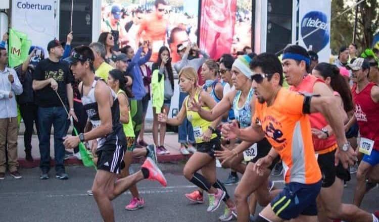Medio Maratón en Tecate, 2019, organizado por IMDETE