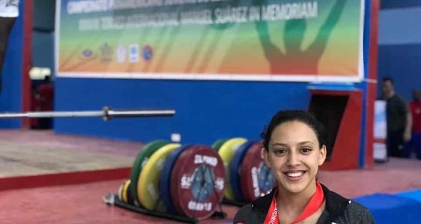 Azucena obtiene bronce en arranque en Panamericano