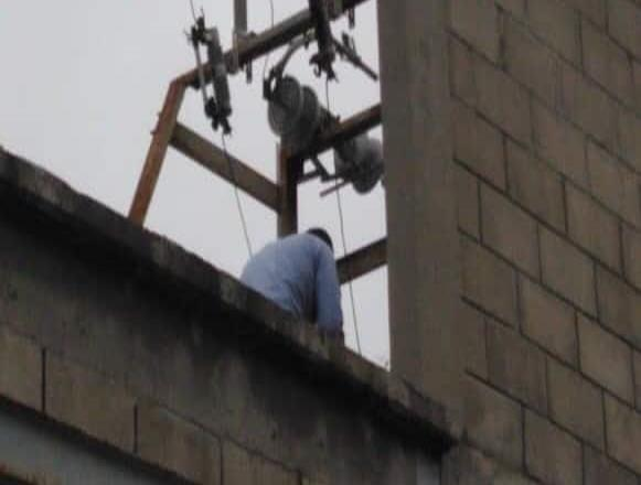 Cuadrillas de la CESPE repararon el deño en breve tiempo