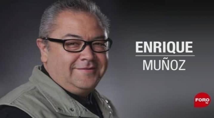 Fallece El Reporteronte, Enrique Muñoz, colaborador de ForoTv