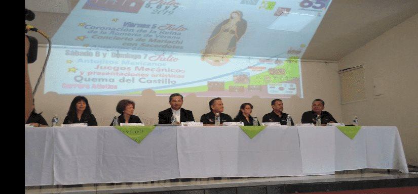 Presentan calendario Romería Guadalupana de Verano 2019