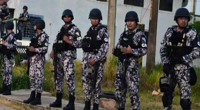 Fortalecen seguridad en BC con presencia de GN