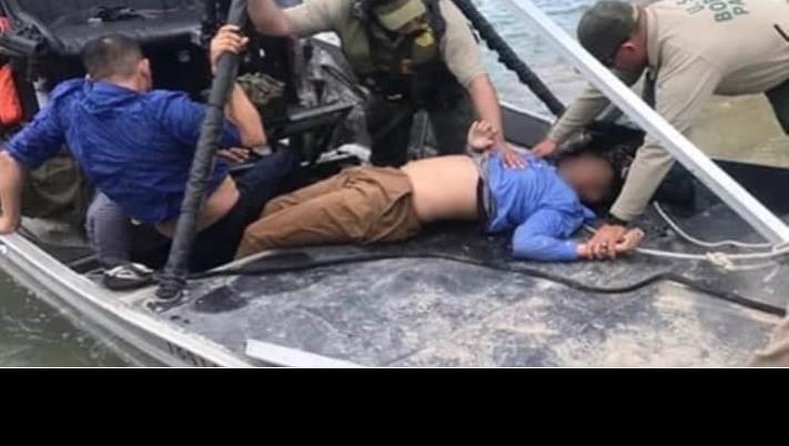 Patrulla Fronteriza rescata a niño hondureño de morir en el Río Bravo