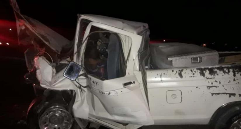 Muere conductor en accidente carretero