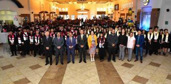 Egresan 132 jóvenes del Cecyte de San Quintín