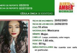 Extraviada: Mujer de 35 años
