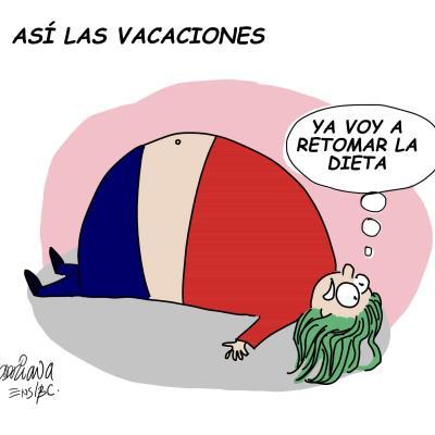 Así las vacaciones