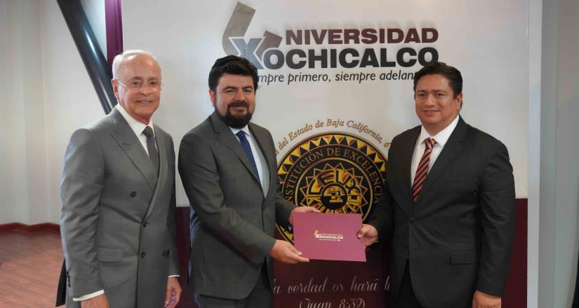 Designa Universidad Xochicalco a nuevo vicerrector en campus Mexicali