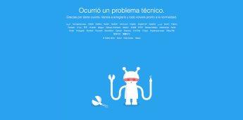 Usuarios en redes sociales reaccionan a la caída de Twitter