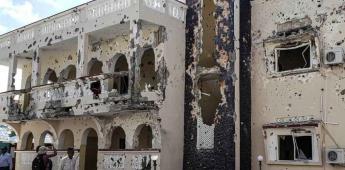 Al menos 26 muertos y 56 heridos en un atentado en un hotel en el sur de Somalia