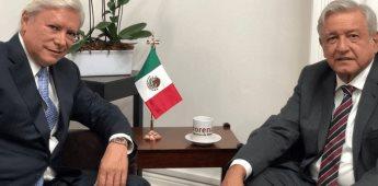 Coparmex acusa a AMLO de pactar con Jaime Bonilla