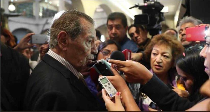Muñoz Ledo considera desaparecer poderes en BC