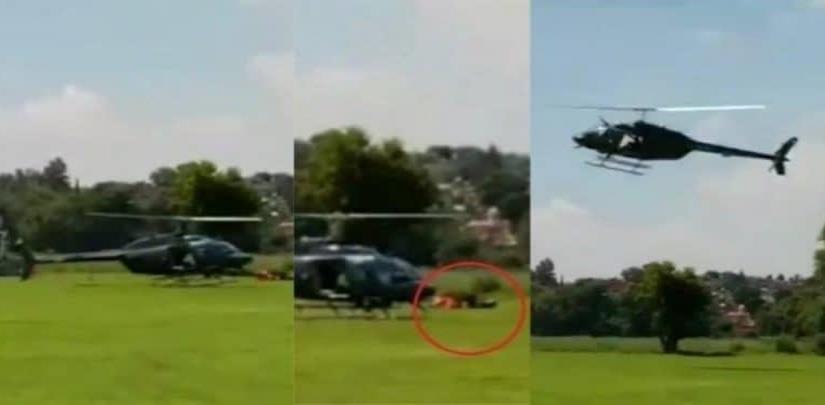 Actores de serie sufren accidente aéreo y uno queda en coma