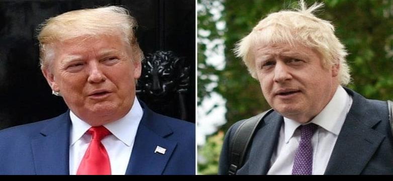 Boris Johnson y Donald Trump, las semejanzas