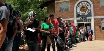Migrantes regresan a sus países hartos de esperar en México