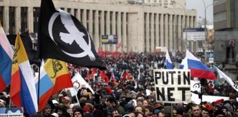Rusia amenaza con detenciones si persisten las protestas
