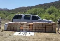 Sedena asegura más de 1 mdp en marihuana abandonada en Ensenada