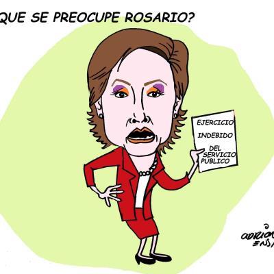 ¿Que se preocupe Rosario?