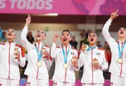 Karla Díaz se lleva el bronce en prueba de cinta