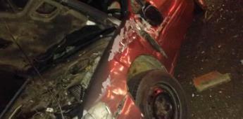 Un muerto y 13 lesionados en brutal choque de 4 autos