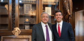 AMLO se reúne con director de Goldman Sachs