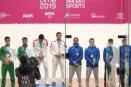 México gana la medalla de oro en dobles varonil de raquetbol