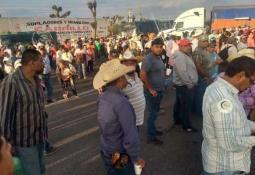 Campesinos instalan plantón en el Senado; demandan reunión con AMLO