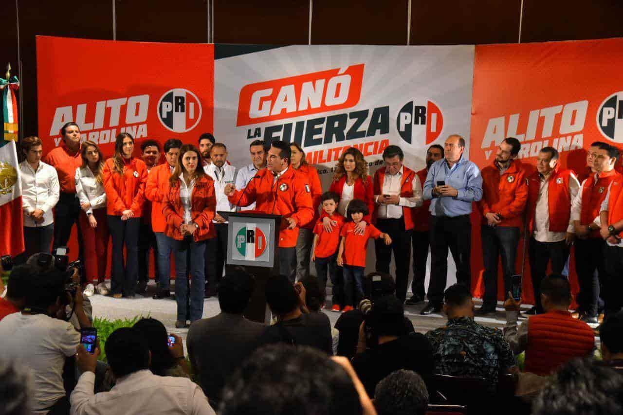 Nuestro triunfo es irreversible e inobjetable: Alito y Carolina Viggiano