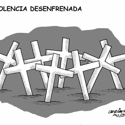 Violencia desenfrenada