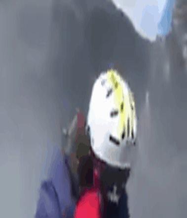 Captan en video a alpinistas dentro del cráter del Popocatépetl
