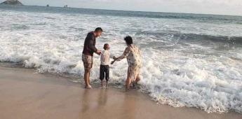 Jonathan conoce el mar